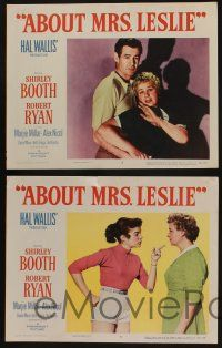5g032 ABOUT MRS. LESLIE 8 LCs '54 Shirley Booth, Robert Ryan, the man she never quite married!