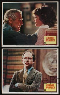 5g033 ABSENCE OF MALICE 8 LCs '81 Paul Newman, Sally Field, Sydney Pollack directed!