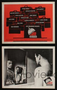5g035 ADVISE & CONSENT 8 LCs '62 Otto Preminger classic, Fonda, great TC artwork by Saul Bass!