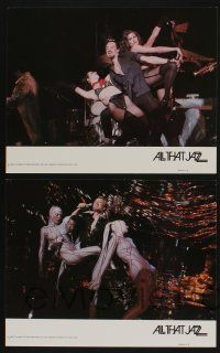5g043 ALL THAT JAZZ 8 color 11x14 stills '79 Roy Scheider, Jessica Lange, Bob Fosse musical!