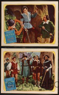 5g058 AS YOU LIKE IT 8 LCs R49 Sir Laurence Olivier in William Shakespeare's romantic comedy!