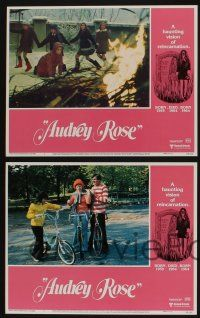 5g061 AUDREY ROSE 8 LCs '77 Susan Swift, Anthony Hopkins, a haunting vision of reincarnation!