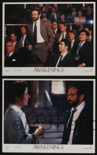 5g064 AWAKENINGS 8 LCs '90 directed by Penny Marshall, Robert De Niro & Robin Williams!