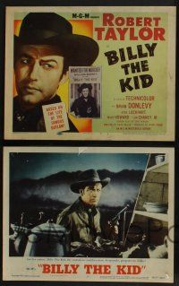 5g079 BILLY THE KID 8 LCs R55 Brian Donlevy, Robert Taylor as most notorious outlaw in the West!