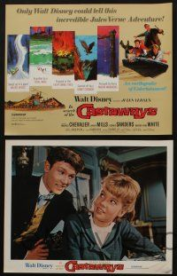 5g022 IN SEARCH OF THE CASTAWAYS 9 LCs R70 Jules Verne, Hayley Mills & Maurice Chevalier!