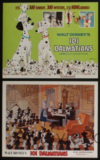 5g023 ONE HUNDRED & ONE DALMATIANS 9 LCs R69 most classic Walt Disney canine family cartoon!