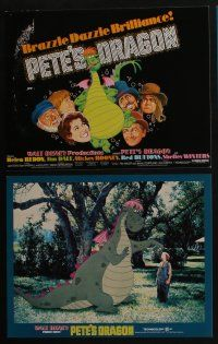 5g024 PETE'S DRAGON 9 LCs '77 Walt Disney, Helen Reddy, Jim Dale, Mickey Rooney!