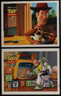 5g006 TOY STORY 2 11 LCs '99 Woody, Buzz Lightyear, Disney and Pixar animated sequel!