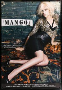 6c021 MANGO DS 47x69 Dutch advertising poster '09 incredibly sexy image of Scarlett Johansson!
