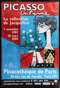 6c033 PICASSO INTIME 47x68 French museum/art exhibition '03 cool art of his famous Madame Z!
