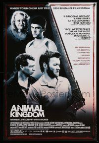 6k040 ANIMAL KINGDOM 1sh '10 Ben Mendelsohn, Joel Edgerton, Guy Pearce!