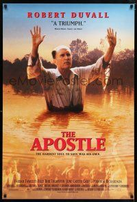 6k044 APOSTLE 1sh '98 Robert Duvall, Farrah Fawcett, Billy Bob Thornton