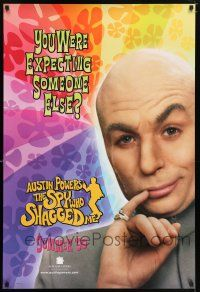6k051 AUSTIN POWERS: THE SPY WHO SHAGGED ME teaser 1sh '97 Mike Myers as Dr. Evil!