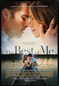 6k070 BEST OF ME int'l advance DS 1sh '14 Michelle Monaghan, James Marsden, Luke Bracey!