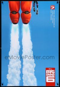 6k073 BIG HERO 6 blue advance DS 1sh '14 Walt Disney CGI animated superhero action!