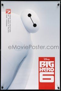 6k074 BIG HERO 6 white style advance DS 1sh '14 Walt Disney CGI animated superhero action!