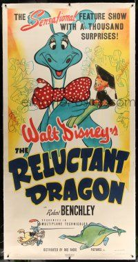 6r048 RELUCTANT DRAGON linen 3sh '41 a behind the scenes look at Walt Disney's animation studio!