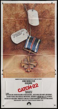 6w449 CATCH 22 int'l 3sh '70 directed by Mike Nichols, based on the novel by Joseph Heller!