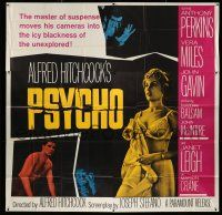 6w200 PSYCHO 6sh '60 sexy half-dressed Janet Leigh, Anthony Perkins, Alfred Hitchcock