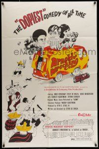 7b050 ARNOLD'S WRECKING CO 1sh '73 De Souza's marijuana comedy, the dopiest of all time!
