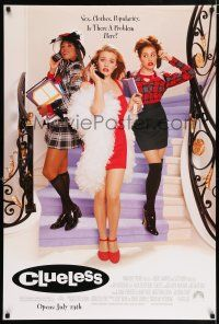 7g141 CLUELESS advance DS 1sh '95 Amy Heckerling, sexy Alicia Silverstone, Brittany Murphy!
