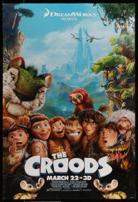 7g158 CROODS style C advance DS 1sh '13 cool image from CG prehistoric adventure comedy!