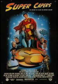 7g731 SUPER CAPERS DS 1sh '09 Justin Whalin, Michael Rooker, Tom Sizemore, Drew Struzan art!