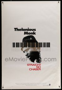 7g745 THELONIOUS MONK: STRAIGHT, NO CHASER int'l 1sh '89 Clint Eastwood produced jazz bio!
