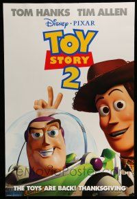 7g777 TOY STORY 2 advance DS 1sh '99 Woody, Buzz Lightyear, Disney and Pixar animated sequel!
