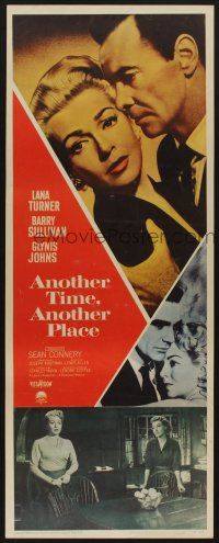7k016 ANOTHER TIME ANOTHER PLACE insert '58 Lana Turner has an affair with young Sean Connery!