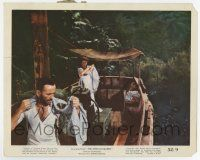 7m019 AFRICAN QUEEN color 8x10 still '52 great image of Humphrey Bogart & Katharine Hepburn on boat!