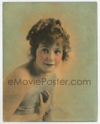 7m069 NORMA TALMADGE color deluxe 7.5x9.5 still '10s wonderful young head & shoulders portrait!