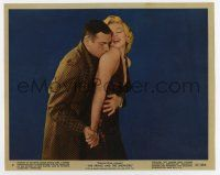 7m076 PRINCE & THE SHOWGIRL color 8x10 still #9 '57 Laurence Olivier & sexy Marilyn Monroe from 1sh!