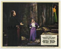 7m040 DRACULA HAS RISEN FROM THE GRAVE color English 8x10 still '69 Christopher Lee & Carlson!