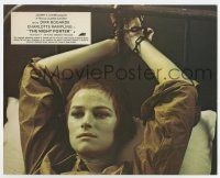 7m068 NIGHT PORTER color English FOH LC '74 short-haired Charlotte Rampling chained to bed!