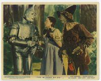 7m003 WIZARD OF OZ color English FOH LC R55 Tin Man tells Dorothy & Scarecrow he needs a heart!