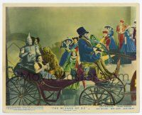7m004 WIZARD OF OZ color English FOH LC R55 Dorothy, Scarecrow, Tin Man & Lion on carriage!