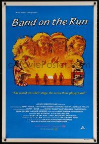 7p021 BAND ON THE RUN Aust 1sh '82 Paul McCartney and Wings, Australian surfing!
