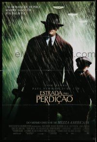 7p056 ROAD TO PERDITION DS Brazilian '02 Sam Mendes directed, Tom Hanks, Paul Newman, Jude Law