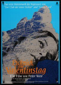 7p032 PICNIC AT HANGING ROCK German R89 Peter Weir classic about vanishing schoolgirls!