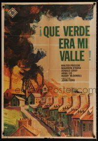 7p077 HOW GREEN WAS MY VALLEY Spanish R67 John Ford, Walter Pidgeon