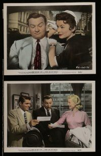 7s034 BRING YOUR SMILE ALONG 10 color 8x10 stills '55 Constance Towers & Laine, first Blake Edwards