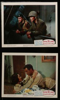 7s008 D-DAY THE SIXTH OF JUNE 12 color 8x10 stills '56 Robert Taylor, Dana Wynter, Richard Todd