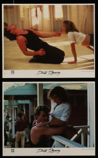 7s067 DIRTY DANCING 8 8x10 mini LCs '87 classic images of Patrick Swayze & Jennifer Grey!