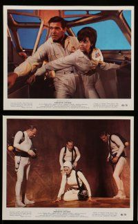 7s010 FANTASTIC VOYAGE 12 color 8x10 stills '66 Raquel Welch, Stephen Boyd, great sci-fi images!
