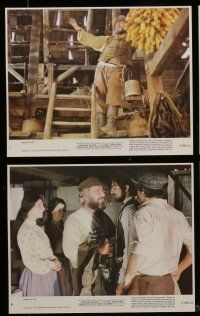 7s069 FIDDLER ON THE ROOF 8 8x10 mini LCs R79 images of Topol, Norman Jewison musical!