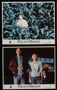 7s070 FIELD OF DREAMS 8 8x10 mini LCs '89 Kevin Costner baseball classic, Amy Madigan, Lancaster!