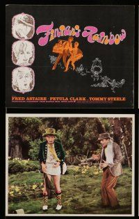7s011 FINIAN'S RAINBOW 12 color 7.75x9.5 stills '68 Fred Astaire & Petula Clark, Coppola!
