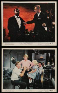 7s012 FIVE PENNIES 12 color 8x10 stills '59 Kaye, Bel Geddes, young Tuesday Weld, Louis Armstrong!