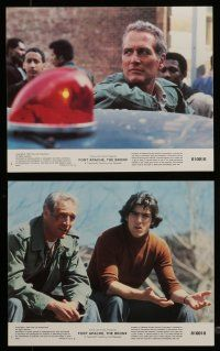 7s074 FORT APACHE THE BRONX 8 8x10 mini LCs '81 Paul Newman, Edward Asner & Wahl as NYPD!